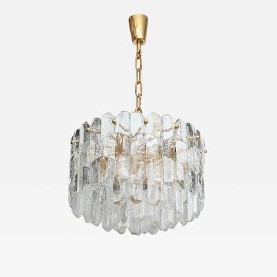 Kalmar Lighting Kalmar Chiseled Ice Glass Chandelier