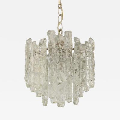 Kalmar Lighting Kalmar Sierra Ice Glass Pendant Chandelier