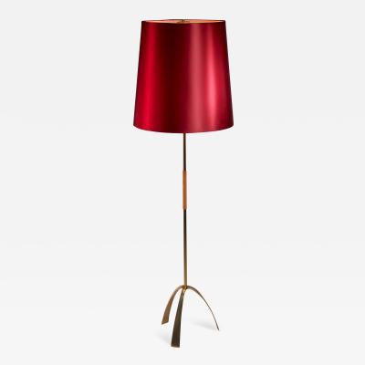 Kalmar Lighting Kalmar brass floor lamp Austria 1950s
