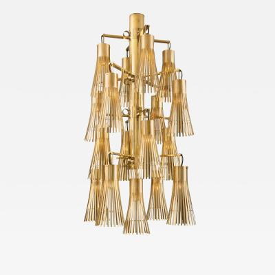 Kam Tin Gold Chandelier