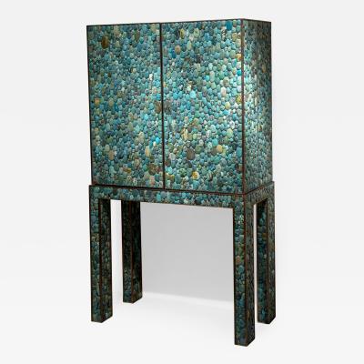Kam Tin KAM TIN Turquoise cabinet France 2019