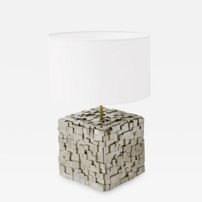 Kam Tin Pyrite lamp