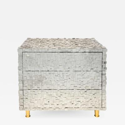 Kam Tin Pyrite nightstand