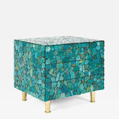 Kam Tin Turquoise chest