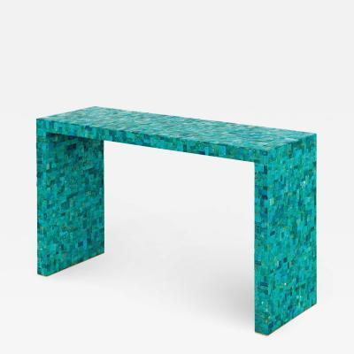 Kam Tin Turquoise console