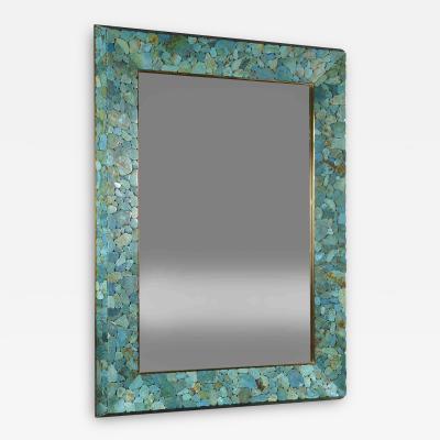 Kam Tin Turquoise mirror