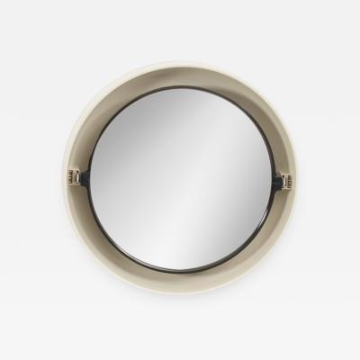 Kartell 1960s Illuminated Round Plastic Mirror