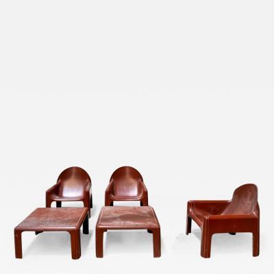 Kartell JUST ARRIVED 70s Lounge set Italian Design