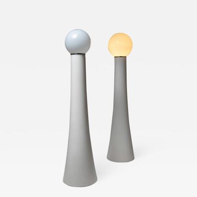 Kartell Set of Two Floor Lamps KD59 by Annig Sarian for Kartell