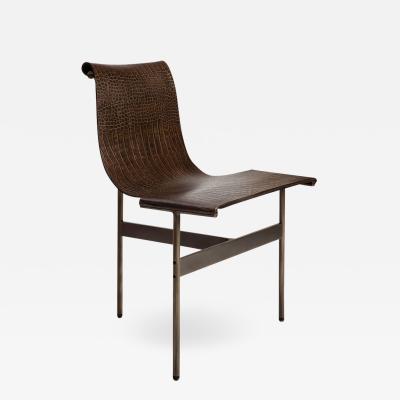 Katavolos Littel Kelly A Mid century designed chair crocodile leather