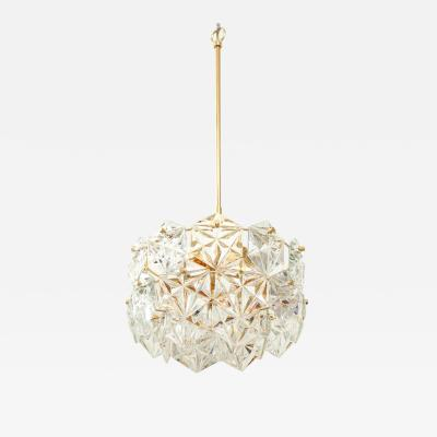 Kinkeldey Faceted Crystal Chandelier by Kinkeldey