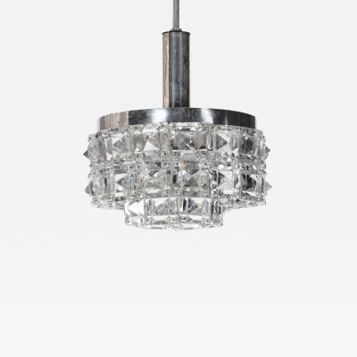 Kinkeldey Kinkeldey Faceted Square Prism Chandelier