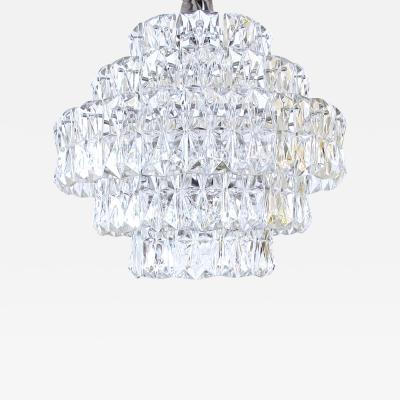 Kinkeldey Leuchten A German 1960s Kinkeldey Lighting 5 Tier Crystal Chandelier