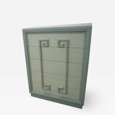 Kittinger Furniture Co Fabulous Greek Key Tall Mandarin Chest Designed by Kittinger Mid Century Modern