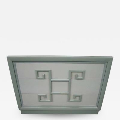 Kittinger Furniture Co Lovely Greek Key Mandarin Chest Designed by Kittinger Mid Century Modern
