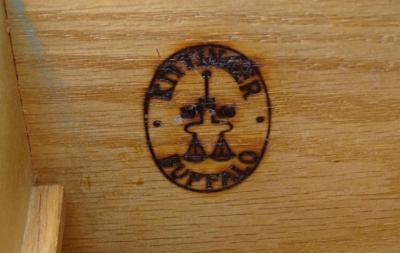 Kittinger Furniture Co Pair of 1940s Kittinger Mandarin Chests in Original Mint Lacquer