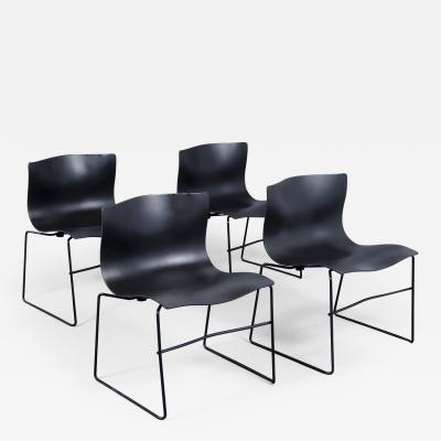 Knoll International Set of Four Knoll Handkerchief Chairs