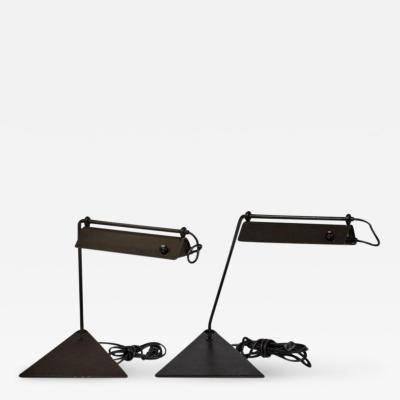 Koch Lowy Koch Lowy Adjustable Pair of Desk Lamps circa 1960