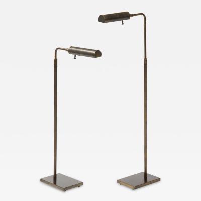 Koch Lowy Koch Lowy Aged Bronze Floorlamps