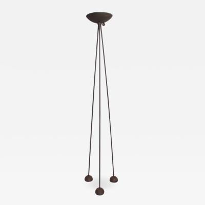 Koch Lowy Mid Century Modern Koch Lowy Torchiere Floor Tripod Lamp