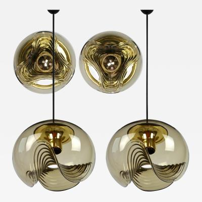 Koch Lowy Set of Four Light Fixtures Koch Lowy Two Sconces and Two Pedant Lights 1970