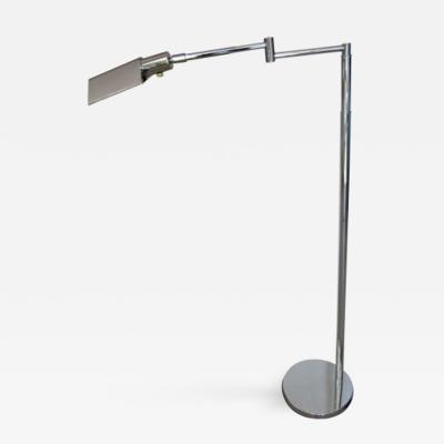 Koch Lowy VINTAGE CHROME READING LAMP BY KOCH AND LOWY