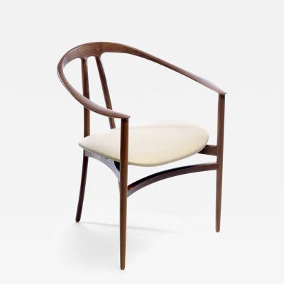 Konekt Bianca Armchair in Walnut