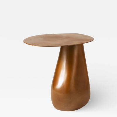 Konekt Dionis Side Table in Patinated Bronze