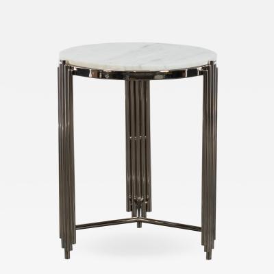 Kravet Inc Alexandria Side Table Nickel