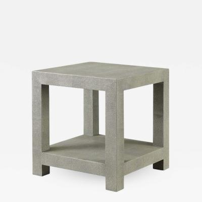 Kravet Inc Ames Shagreen Side Table