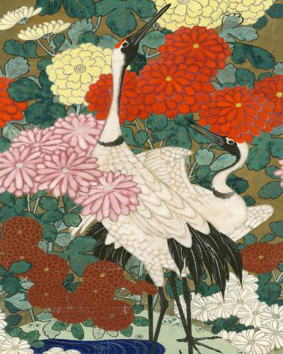 Kravet Inc Asian Crane