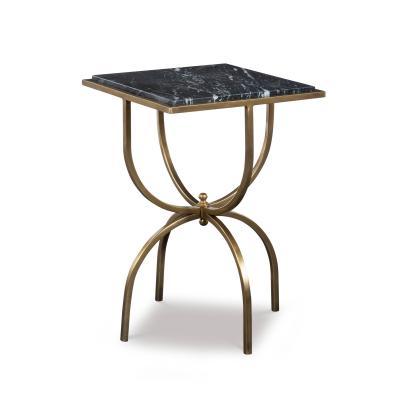 Kravet Inc Balin Side Table Black