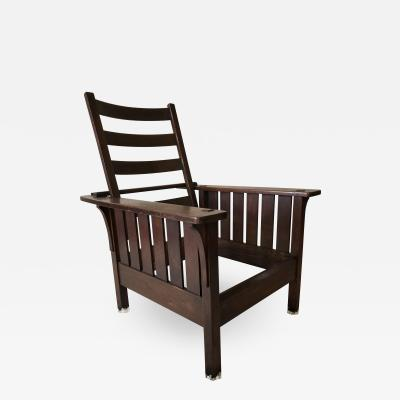 L JG Stickley L JG Stickley Morris Chair arts and crafts