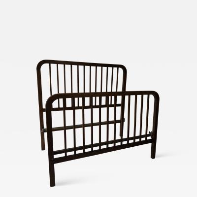 L JG Stickley Stickley Rare Arts and crafts Oak Full size bed