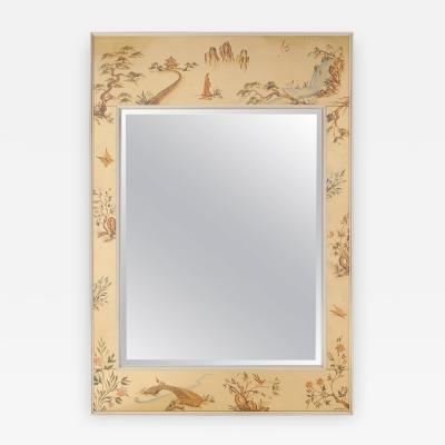 La Barge Chinoiserie Wall Mirror by LaBarge