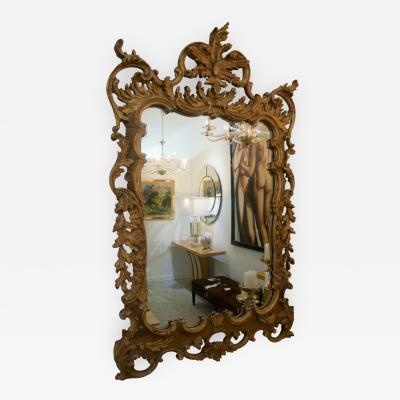 La Barge Chippendale Rococo Style Wall Mirror