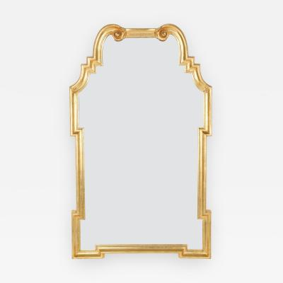 La Barge Ornate 1960s Gilded Mirror by La Barge