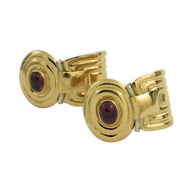 La Nouvelle Bague La Nouvelle Bague Rhodolite Earrings