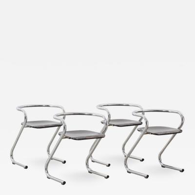 Lammhults Lindau Lindekrantz S70 chairs Lammhults Sweden 1968