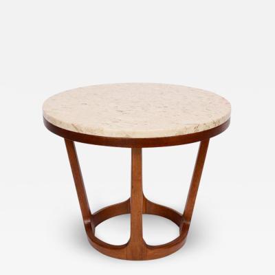 Lane Furniture Adrian Pearsall Style Lane Furniture Co Travertine Walnut Occasional Table