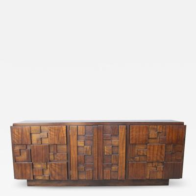 Lane Furniture Brutalist Dresser by Lane