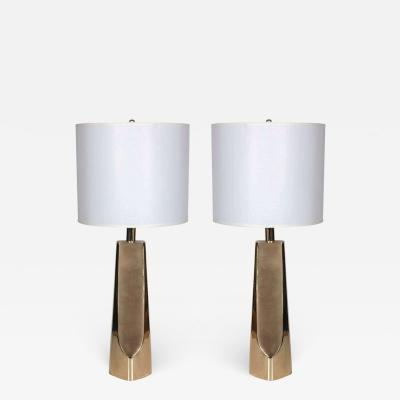 Laurel Lamp Company Laurel Modernist Brass Lamps