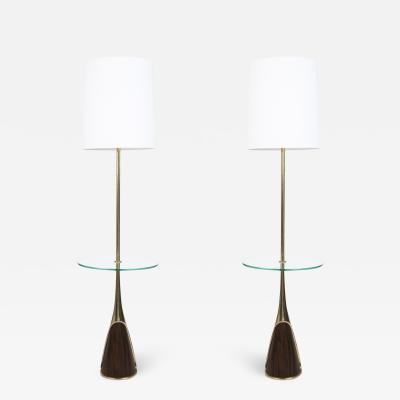 Laurel Lamp Company Pair of Mid Century Modern Floor Lamps by the Laurel Lamp Company USA