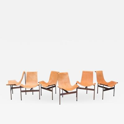 Laverne International Original Katavalos T Chairs Model 3LC for Laverne International