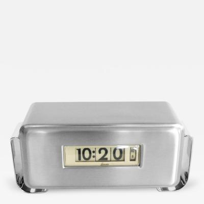 Lawson Time Inc Streamline Art Deco Clock by Lawson 1934