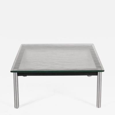 Le Corbusier 1980s Coffee Table LC10 by Le Corbusier for Cassina Italy