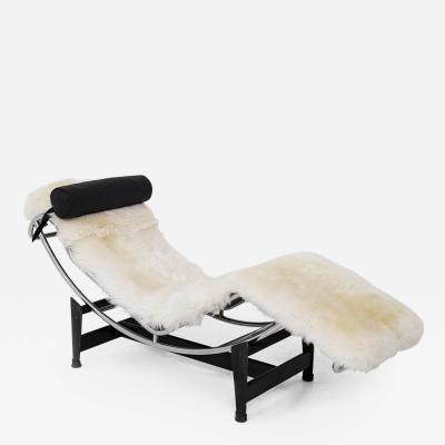 Le Corbusier Jeanneret Perriand Chaise Longue LC4 by Le Corbusier C Perriend and P Jeanneret for Cassina