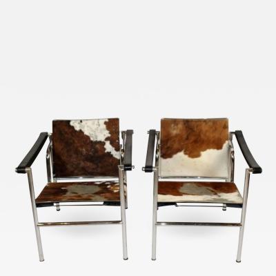 Le Corbusier Pair of Le Corbusier Chairs