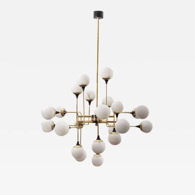 Le Lampade Cluster Chandelier by Le Lampade