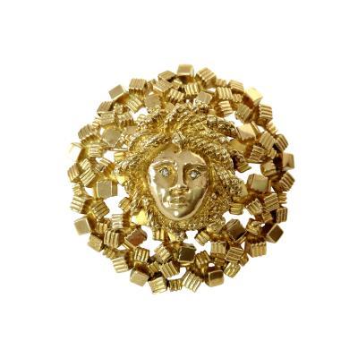 Le Triomphe Le Triomphe Gold Medusa Pendent